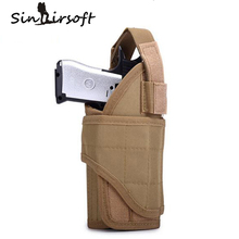 Vest Pistol Holster Utility Army Military Adjustable Airsoft Pouch Tornado multiple MOLLE Vertical Accessories