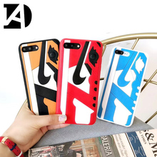 Fashion Us Street Trend 3D Shoes Air Dunk Jordan Phone Case iPhone 6S 6 7 8 Plus Back Cover Cases iPhone X 10 XR XS MAX