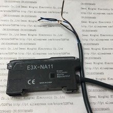 2PCS/LOT E3X-NA11 Optical fiber sensing amplifier(China)