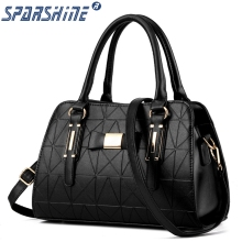 Buy Women Bags Mobile Messenger Ladies Handbag PU Leather High Handbags Shoulder Bag Rivet Bow Crossbody Bags for $16.22 in AliExpress store