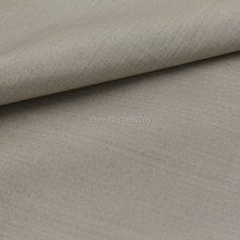 BLOCK EMF Silver Fiber Fabric Conductive Fabric For garments(China)