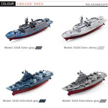 2017 New Hot Sale Remote Control Challenger Aircraft Carrier RC Boat Warship Battleship Toys Remote Control Toy for kids Child