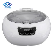 Digital Ultrasonic Cleaner Wash Bath Tank Baskets Jewelry Watches Dental 600ML 35W Mini Portable Ultrasound Cleaner  US Plug