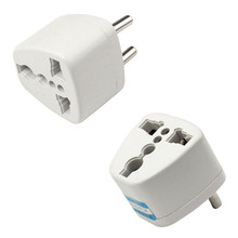 Charging Port Universal Worldwide Travel Wall Charger AU US UK to EU AC Power Plug Adapter Outlet Socket Converter(China)