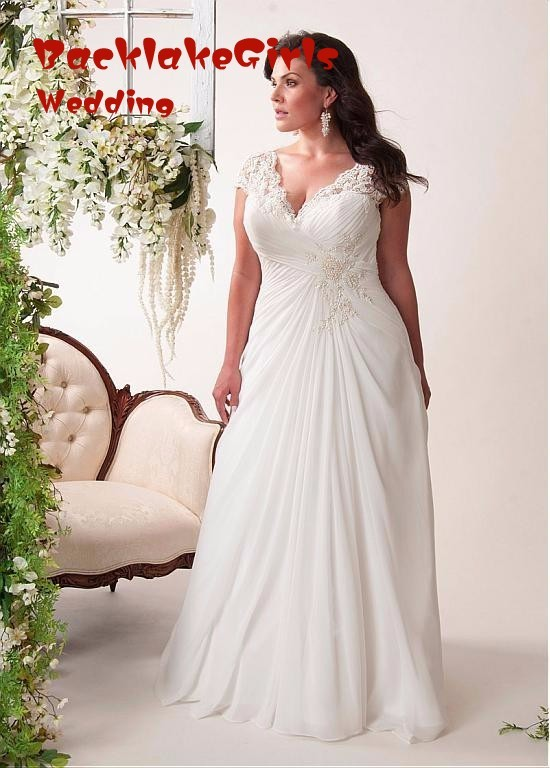 beach wedding dresses beautiful chiffon bridal gown plus size open lace lace up back dress