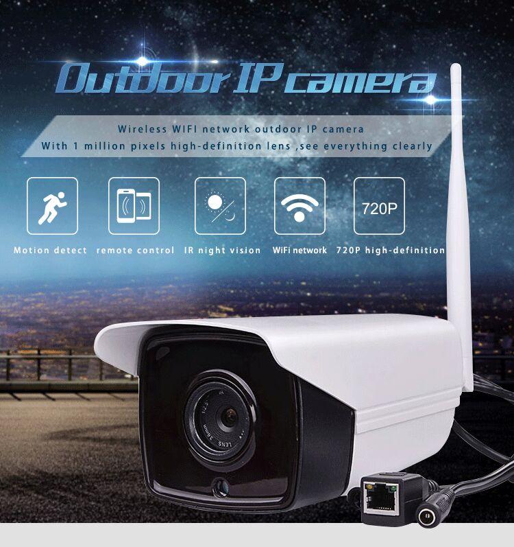 Freeshipping By DHL Newest Outdoor Waterproof Wireless IP Camera HD NIght Vision IP Camera Surveillance Camera Wifi Camera<br><br>Aliexpress