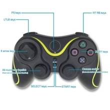 2.4G Wireless Gamepad for PS3 Computer Android Joystick With USB Interface Game Pad for PC Digital and Simulation Controller
