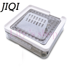 100 Holes Professional manual Capsule Fillling machine Powder pharmaceutical Filler Plate Size 0 zero DIY Herbal Capsules maker