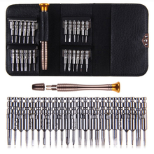 [25 in 1] Precision QPtools Screwdriver Set Wallet, Watch Laptop iPhone Samsung Smart Phone Repair Dismantle Multi Tools