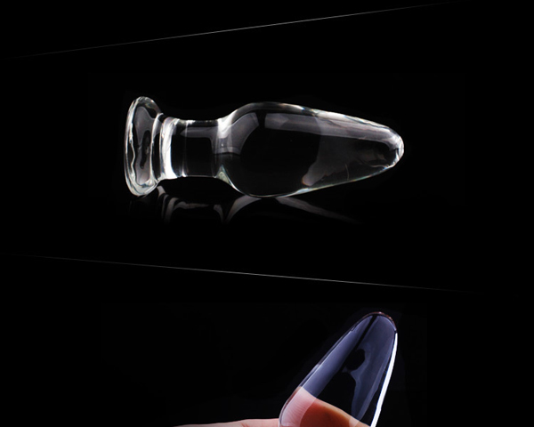 1Pc Glass Anal Butt Plugs Crystal Dildos Beads Ball Erotic Stimulator Fake Penis Female Masturbate Sex Toys for Couples 14