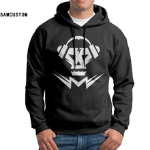SAMCUSTOM Custom Men's Hip rick Hop Hoody 2017 Skull Music Hoodies Supreme hoodie Men pullover hooded Dear Sweatshirt(China)