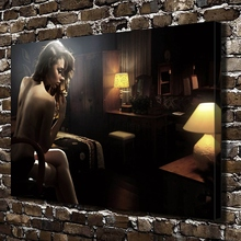 A1108 Sexy beautiful naked girl Figure Scenery.HD Canvas Print Home decoration Living Room bedroom Wall pictures Art painting
