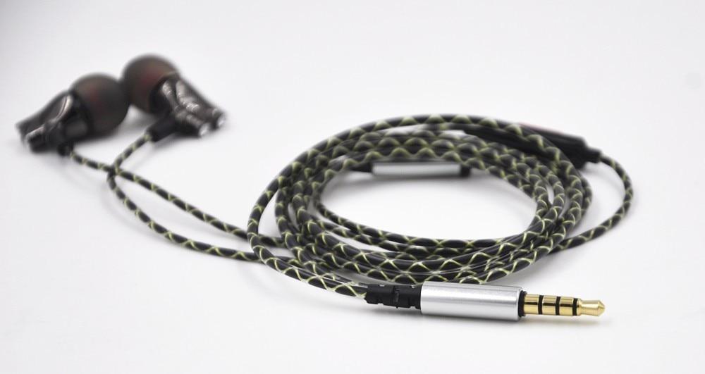 Wooeasy DIY IE800 Earbuds HiFi In-ear Ceramic Earphone Earbud Earbuds Wth Microphone Top Quality HiFi In-Ear Headset 22
