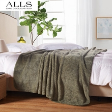 Japanese style blanket on bed/sofa brown/ArmyGreen bed cover/blankets for spring/summer/autumn pled na krovat pokryvalo na divan