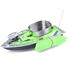 Mini  RC Wireless Fishing Boat Adventure Lure Bait Boat with US Plug/EU Plug/CN Plug  for Finding Fish 3 Colors 2017 New