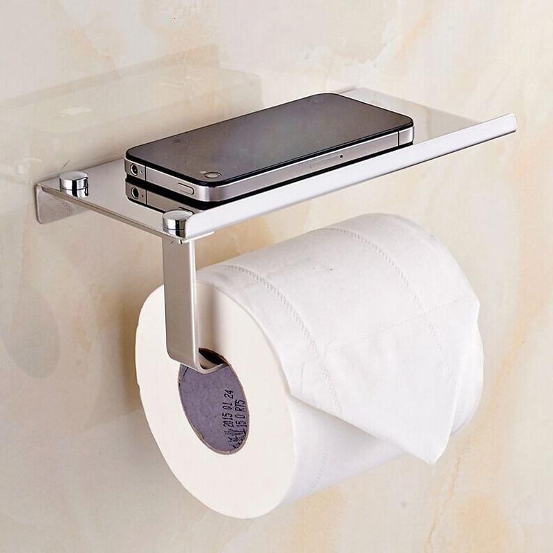 Papier Toilette Titulaire ventouse boîte Tissu Rouleau Mural Serviette Hanger Salle de bain blanc