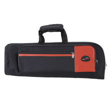 High Quality 600D Oxford Bag Case for Trumpet with Adjustable Shoulder Strap Pocket 15mm Thicken Padded Foam