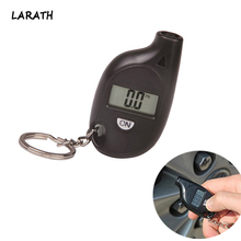 Mini Portable Digital Car Auto Tire Pressure Tester Motorcycle Tyre Air Meter Gauge LCD Display Diagnostic Tool(China)