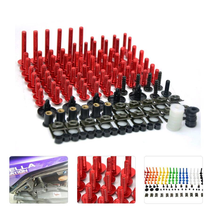 Discounted prices Motorcycle CNC Fairing Bolt Screw Fastener For SUZUKI GSXR 600/750 GSX-R 600/750 2006 2007 2008 2009 2010<br>
