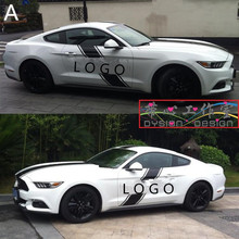 Customized Car Body Head / Roof / Tail Sticker For Ford Mustang / Mondeo Z2CA503