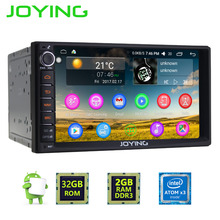 New JOYING 2GB RAM Android 6.0 marshmallow Car Audio Stereo GPS Navigation Double 2 Din Multimedia Player support DAB+/DVR/OBD2(China)