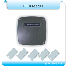 Buy 70-120mm Middle Reading Distance Range Wiegand 26 bit 125KHz EM ID RFID Reader/access control long range reader tarjeta antenna for $84.55 in AliExpress store