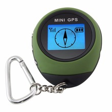 Mini Digital GPS Receiver Outdoor and Location Finder Navigator + 24 POI Memory Sport Hiking Camping Biking Travel(Hong Kong)