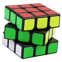 LeadingStar Black 3 Order Puzzle Black Magic Cube 6-color Puzzle 3-Order cube Trainer For Children zk25(China)