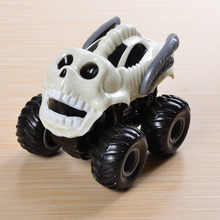 Monster Truck brinquedo menino Inertial Car 4WD high speed climbing Big Skeleton Rubber Tire shell removeable cover  kids toys