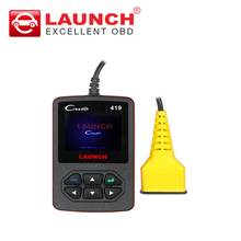 Launch CReader 419 OBD2 Code Reader Diagnostic Scanner with Manufacturer Specific DTCs online update same as CR4001
