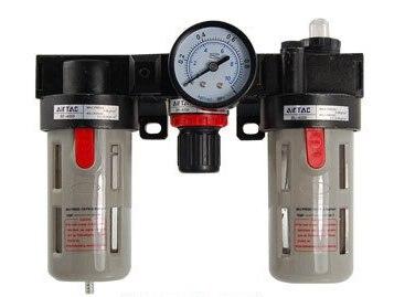 Free Shipping 2PCS/Lot BC-2000 Pneumatic Air Source Treatment Unit w Regulator Gauge<br>