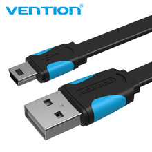 Vention Mini USB Cable Mini USB to USB Fast Charging Data Cable For Cellular Phone Digital Camera HDD MP3 MP4 Player Tablets GPS