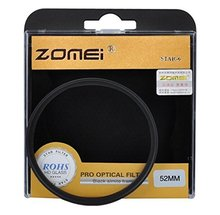 F15081 Zomei Professional 52mm Night View Snowflake Cross Twinkle Effect Star Filters for Lens DSLR Camera - 6 Point FS