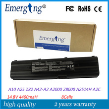 14.8v 4400mah Japanese Cell New Laptop Battery for ASUS A42-A2 BLACK Li-ion Battery Pack A2 A2C A2D A2000 A2500 A2508H A2800S(China)
