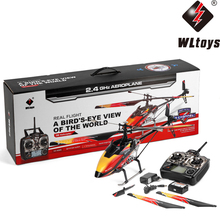 WLtoys V913 Brush Motor Single Blade RC Helicopter Model 4Ch 2.4GHz Large Radio Remote Control Aircraft Outdoor Game Toy Gift(China)