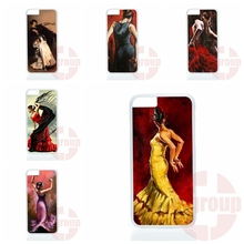 Screen Protector artist top art the spanish dancer For Galaxy Core 4G Alpha Mega 2 6.3 Grand Prime S6 edge Plus Ace4 G313h G357