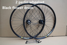 Authentic Taiwan FAST2 perlin disc brake wheel mountain bike wheel 26 inch 32 hole disc brake bicycle wheelset
