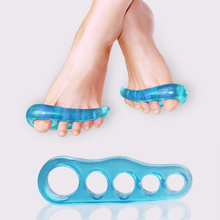 Silicone 2 PCS Toe Separators Stretchers Straighteners Alignment Bunion Gel Pain Relief