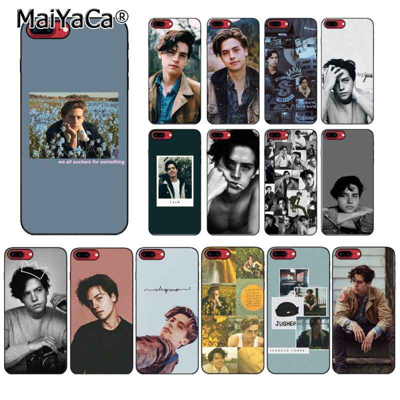 Чехол для телефона MaiYaCa с американским ТВ ривердейлом серии Cole Sprouse для iphone 11 Pro 11Pro Max X XS MAX 6 6s 7 8Plus 5 5S SE XR
