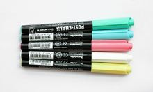 ZIG Chalk Paint Kuretake Brush Pen Fast Dry 5 Colors Japan CH-990