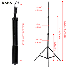 Professional Photography Light Stand for Photo Studio Photolamps, Lighting, Lamps, Deflectors, Umbrellas, Difusser etc(China)