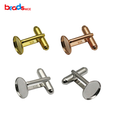 Beadsnice ID25014 new 925 sterling silver cufflinks wholesale factory price French cufflink backs with 18mm cuff link blanks