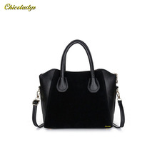 CCHICOLADYZ 2015 Fashion bags women handbag spring nubuck leather bags women messenger bag free shipping bolsos mujer cz08