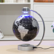 Magnetic Levitation Floating Globe Anti Gravity World Map Suspending Globe with Light Home Office Decoration Ornaments Gifts