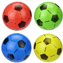 2017 PVC football Inflatable toys globos Children classic toys air balls rubber ball Soccer Balls Training Foot Ball