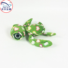 2016 New arrival turtle plush toy stuffed animal turtle with big eyes and decorative heart design toy doll pattern(China)