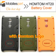 for HOMTOM HT20 Battery Cover New High Quality Replacement Battery Case Back Cover for HOMTOM HT20 Pro Phone Cover Case