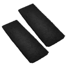 FS Hot Black Spa Bathing Terry Elastic Headband Hair Tie Band 2 Pcs