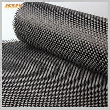 Carbon Fiber 3K 200g/m2 0.28mm Thickness Plain Woven Cloth reinforce carbon fabric for car spoiler building(China)