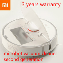 3 year warranty!xiaomi robot vacuum cleaner 2 Automatic Sweeping Dust WIFI APP Wet drag mop Smart Planned with water tank(China)